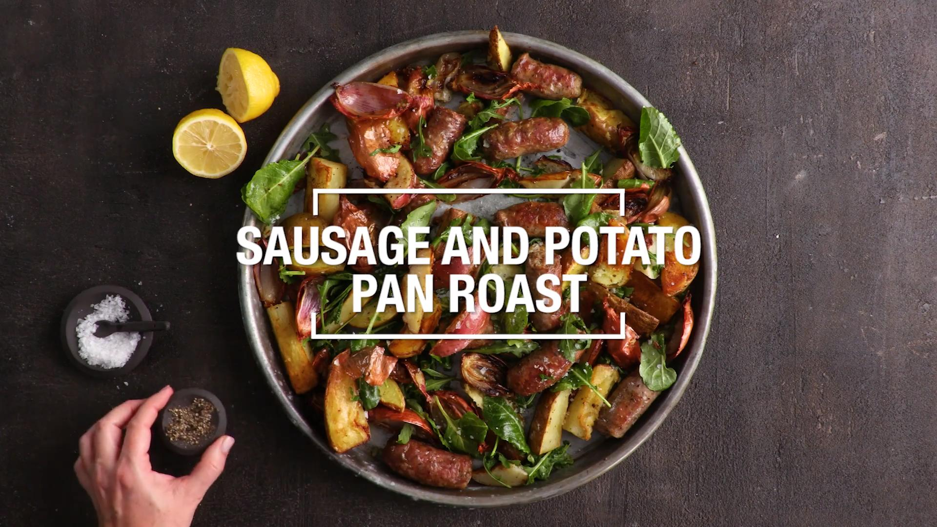 Sausage and Potato Pan Roast