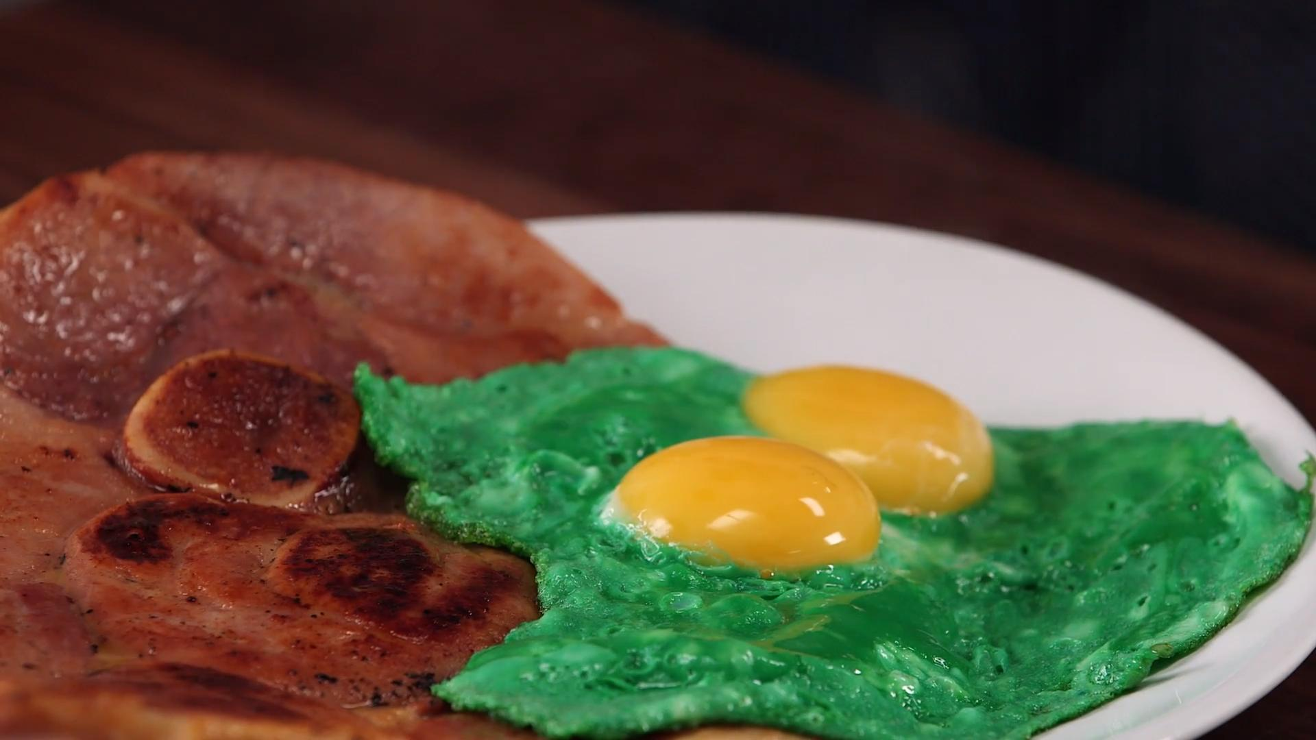How To Make Green Eggs And Ham In Honor Of Dr Seuss S Birthday Food Wine