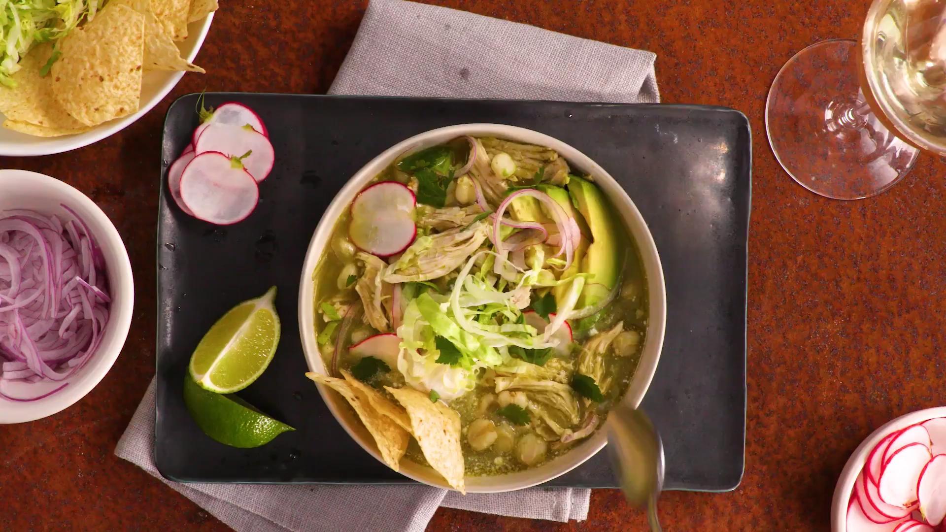 Mexican Chicken Pozole Verde