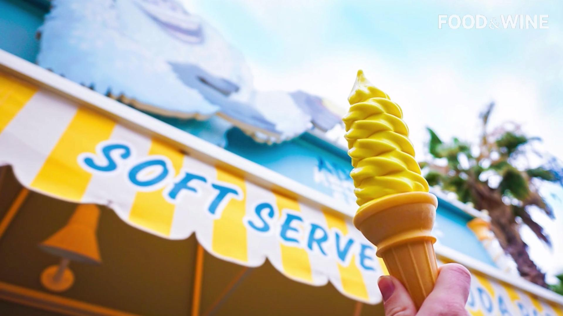 Disney's New Soft Serve Flavor Could Be the Next Dole Whip