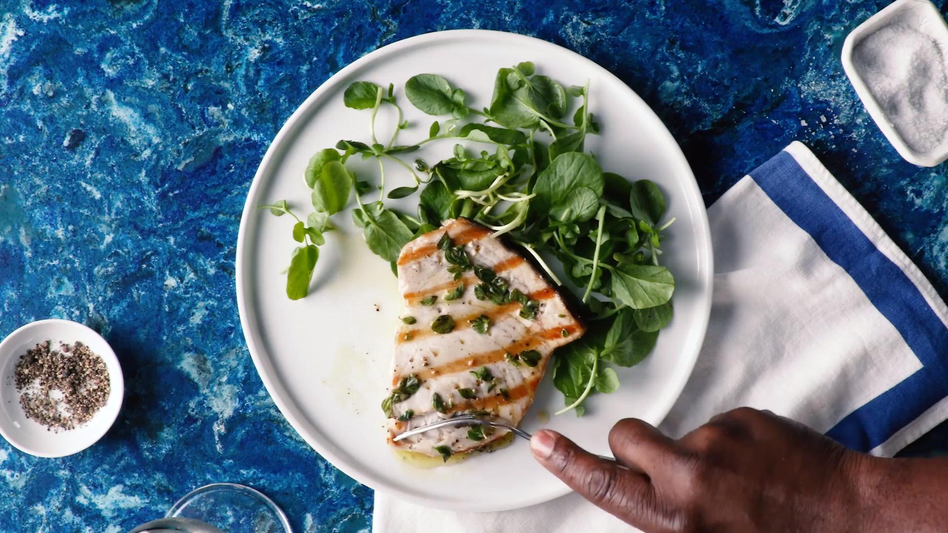 Swordfish Sicilian-Style