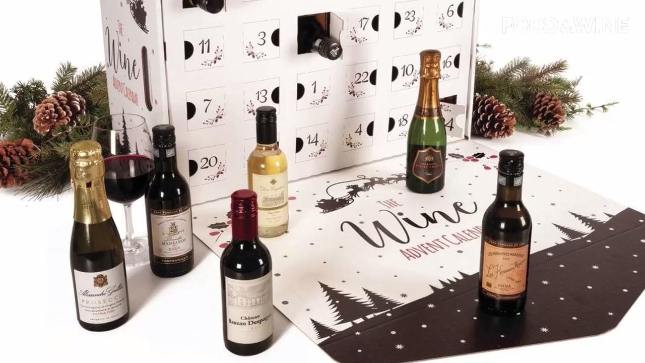 This wine advent calendar will put you in the holiday spirit: