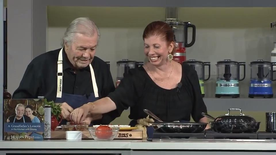 Lessons from a Grandfather | Jacques Pépin | mkgalleryamp; Wine Classic in Aspen 2018