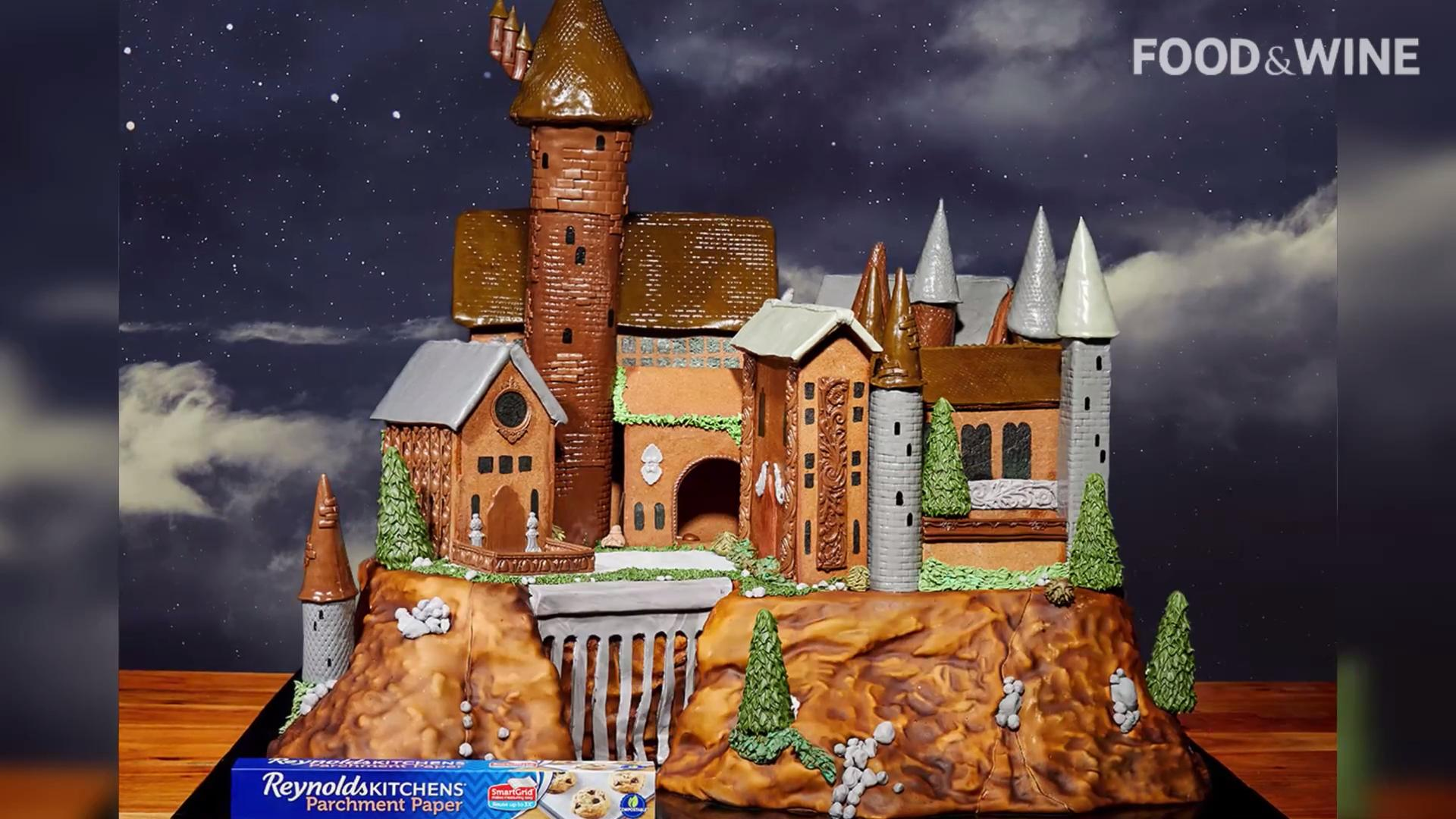 This Gingerbread Hogwarts Castle Is a Magical Feat of Cookie