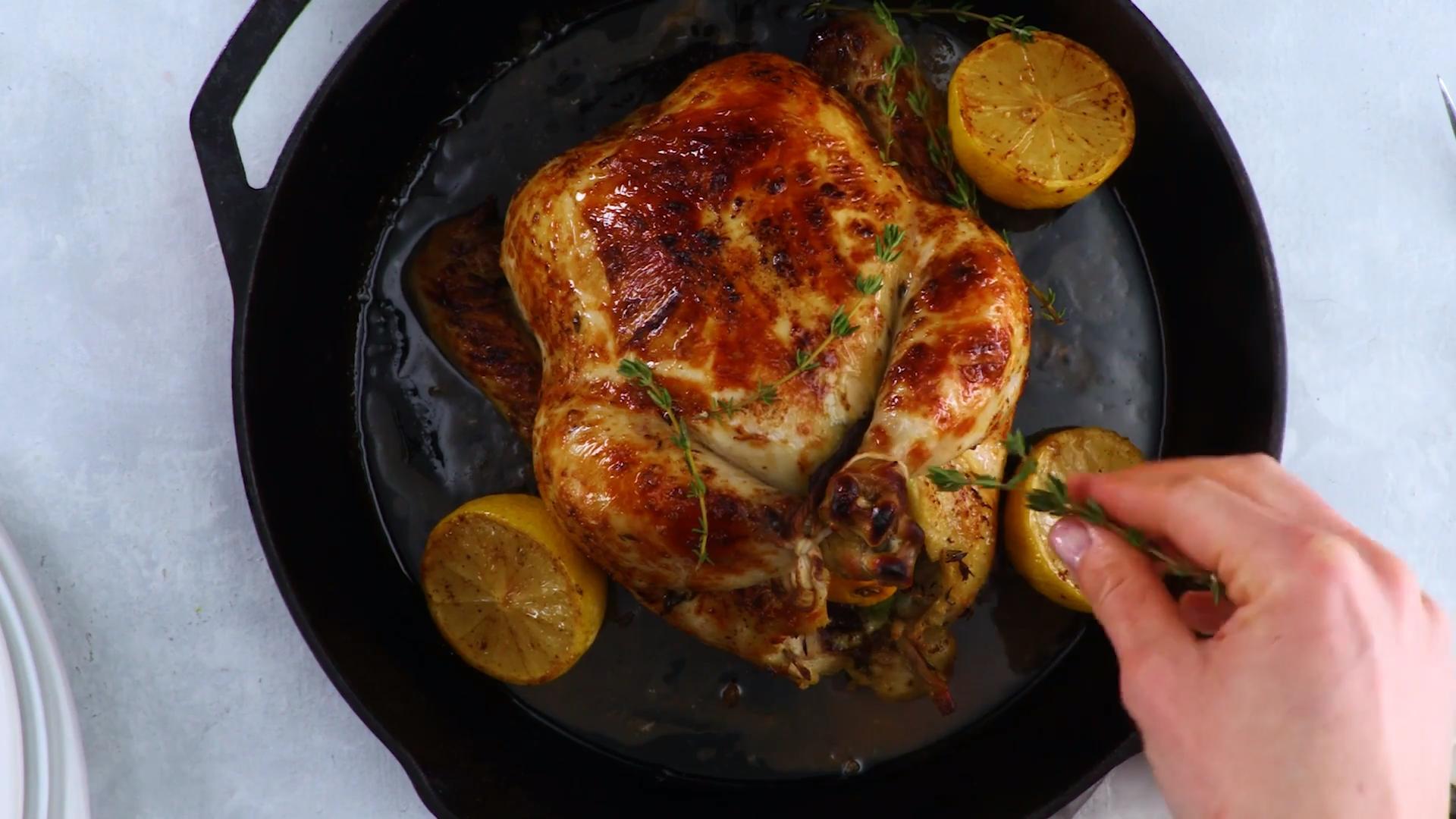 Skillet-Roasted Buttermilk Chicken