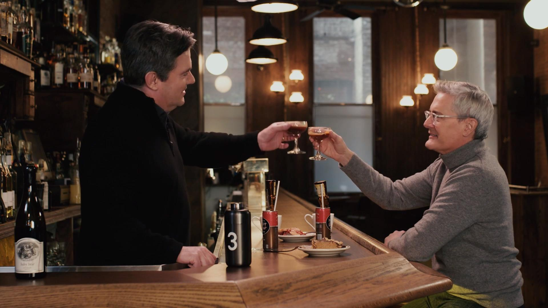Kyle MacLachlan Drinks Some Damn Fine Coffee Cocktails