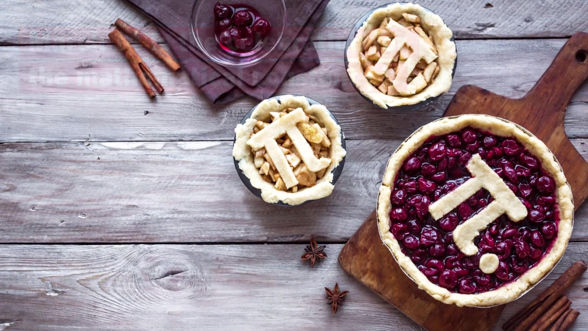 Delicious Pies for Pi Day