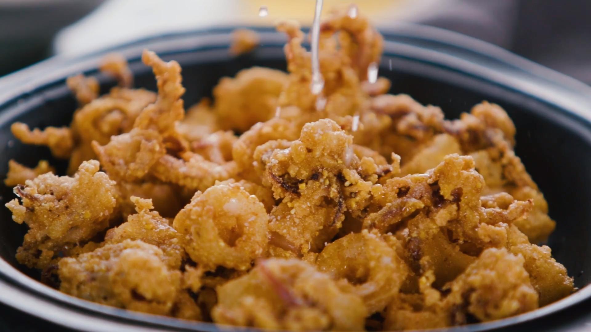 Extra-Crunchy Calamari