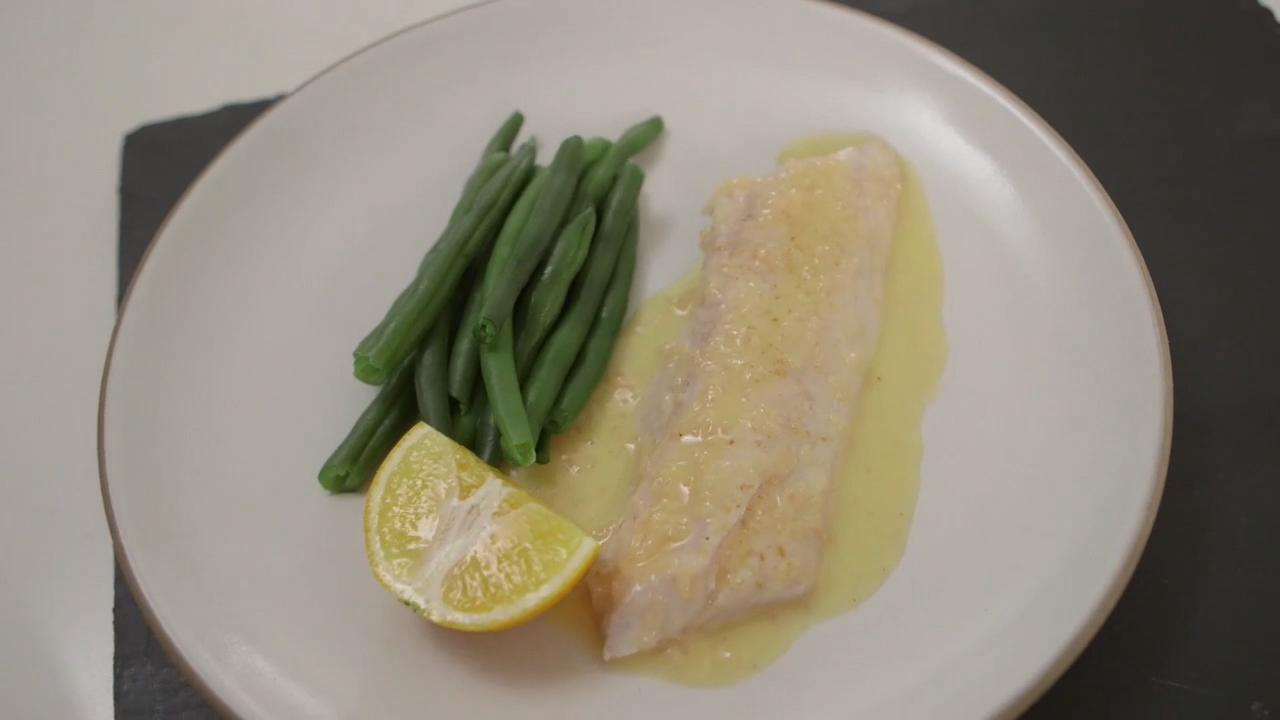 Steamed Striped Bass with Beurre Blanc
