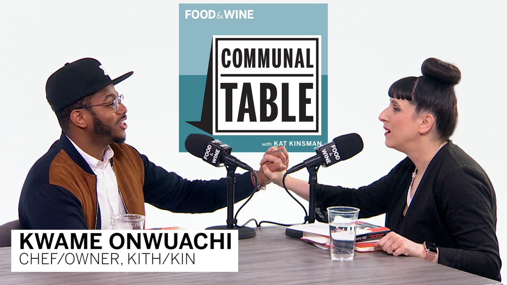 Communal Table Podcast: Kwame Onwuachi