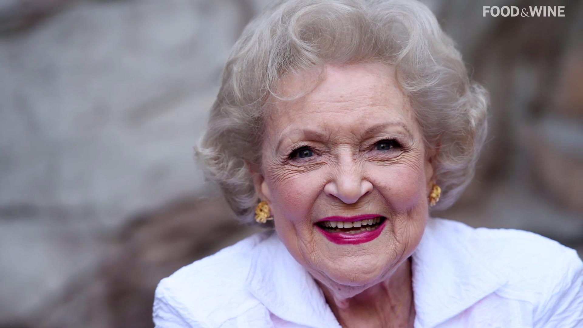 Americans Choose Betty White as the Celebrity They'd Most Like to Have a Beer With