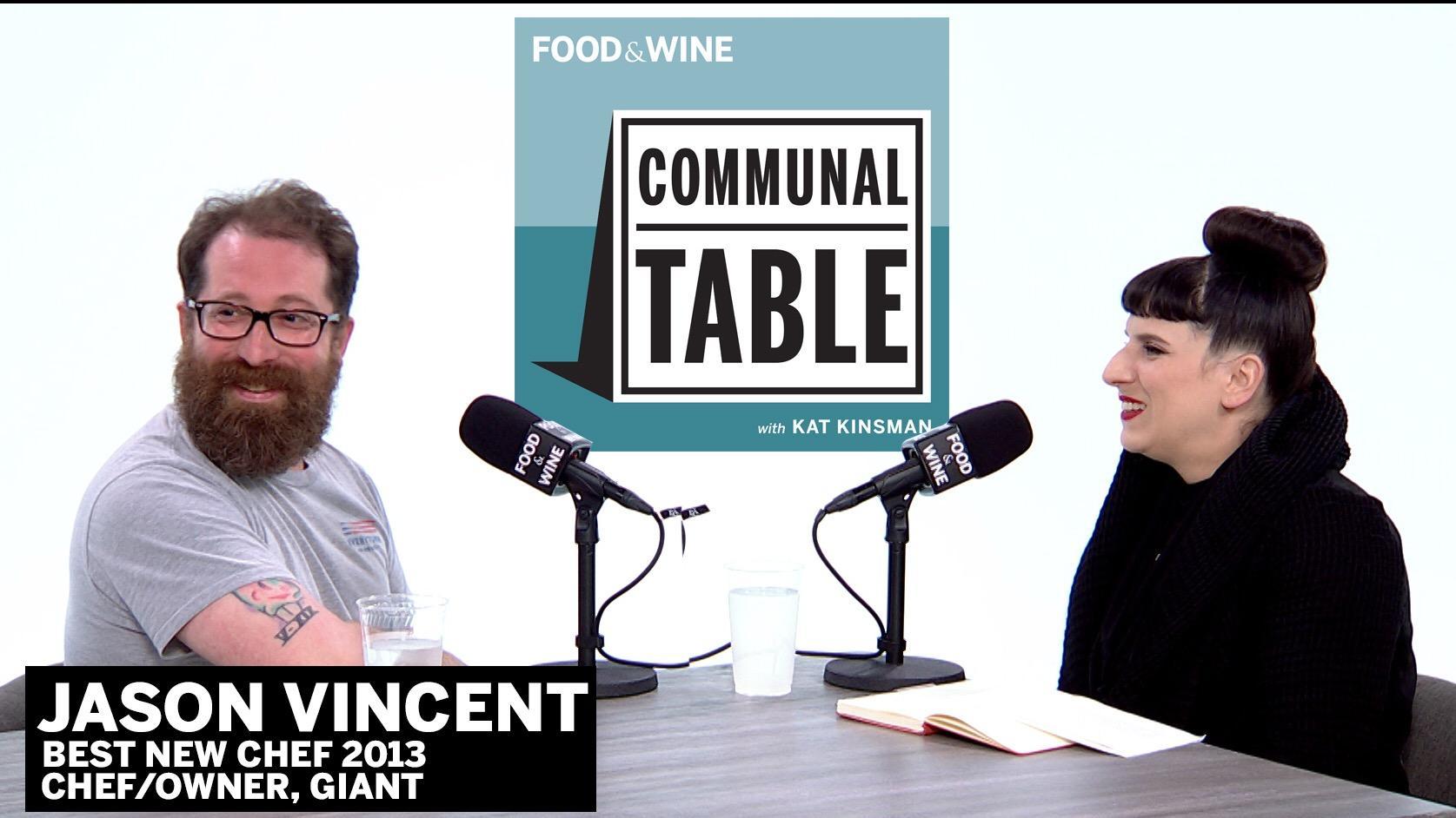 Communal Table: Jason Vincent