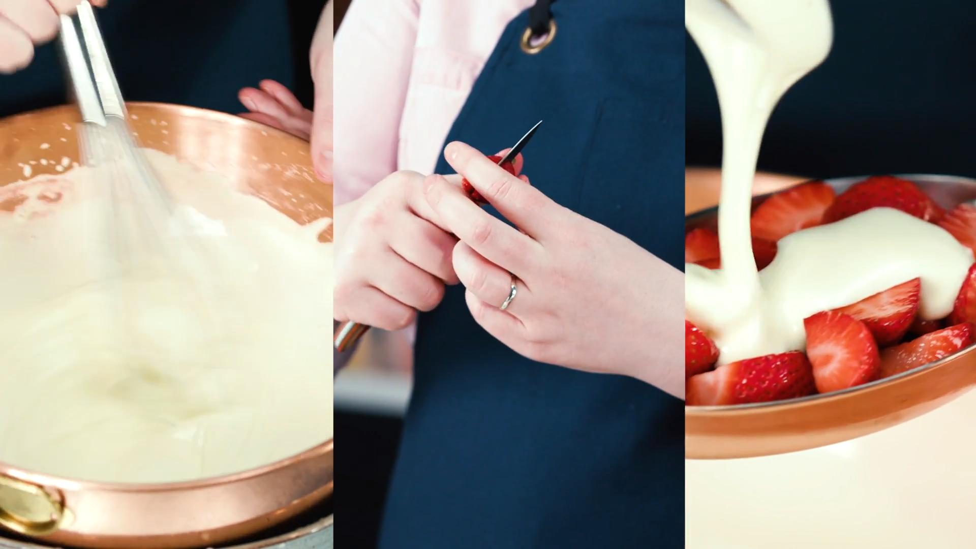 Make This Elegant, Boozy Strawberry Dessert in Less Than 30 Minutes