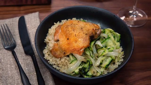 Why You Should Be Cooking Zucchini in Chicken Fat