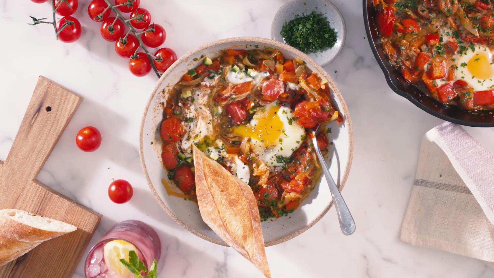 Za'atar Baked Eggs