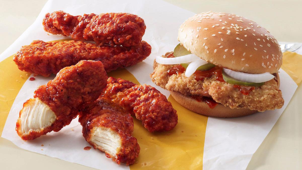 McDonald's Fires Spicy BBQ Shot in Chicken Sandwich Wars