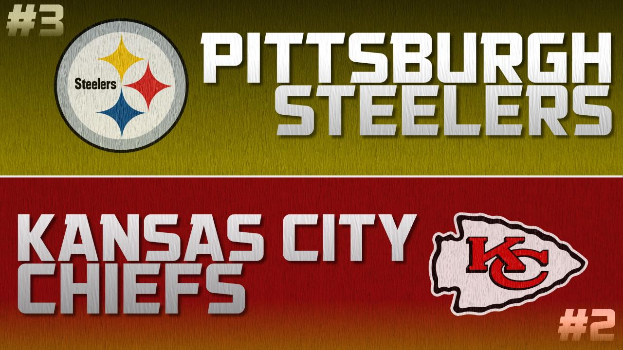 6472ffe5 Steelers vs. Chiefs NFL Playoffs 2017 - A Series History
