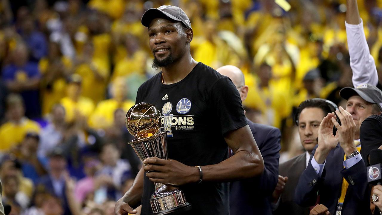 4b66172d149 NBA Finals  Kevin Durant s Mom Shows Love