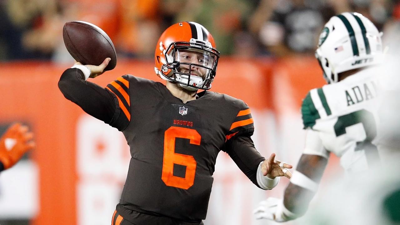 58c4c0e2138 Baker Mayfield  The Cleveland Browns are his team now