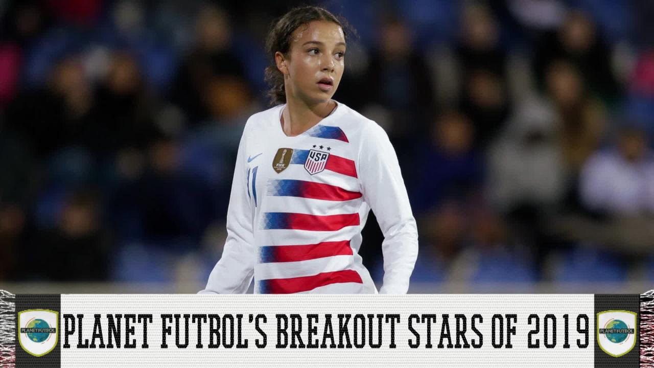 Looking at the USWNT roster heading into the 2019 World Cup