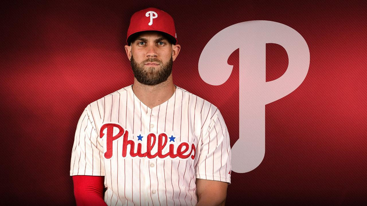 Phillies Introduce Bryce Harper At Spring Training Press