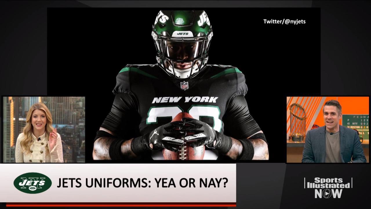 f5d58f3c02d New York Jets jerseys: Is the new design an improvement? | SI.com