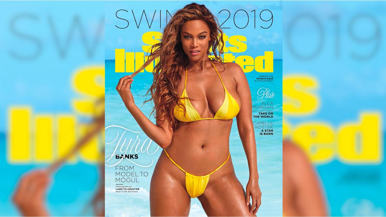 e8d7a39f3fd6b0 SI Swimsuit 2019: Tyra Banks, Camille Kostek, Alex Morgan each land solo  cover | SI.com