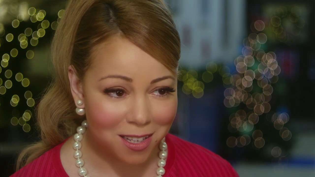 A Christmas Melody.Mariah Carey In A Christmas Melody With Lacey Chabert