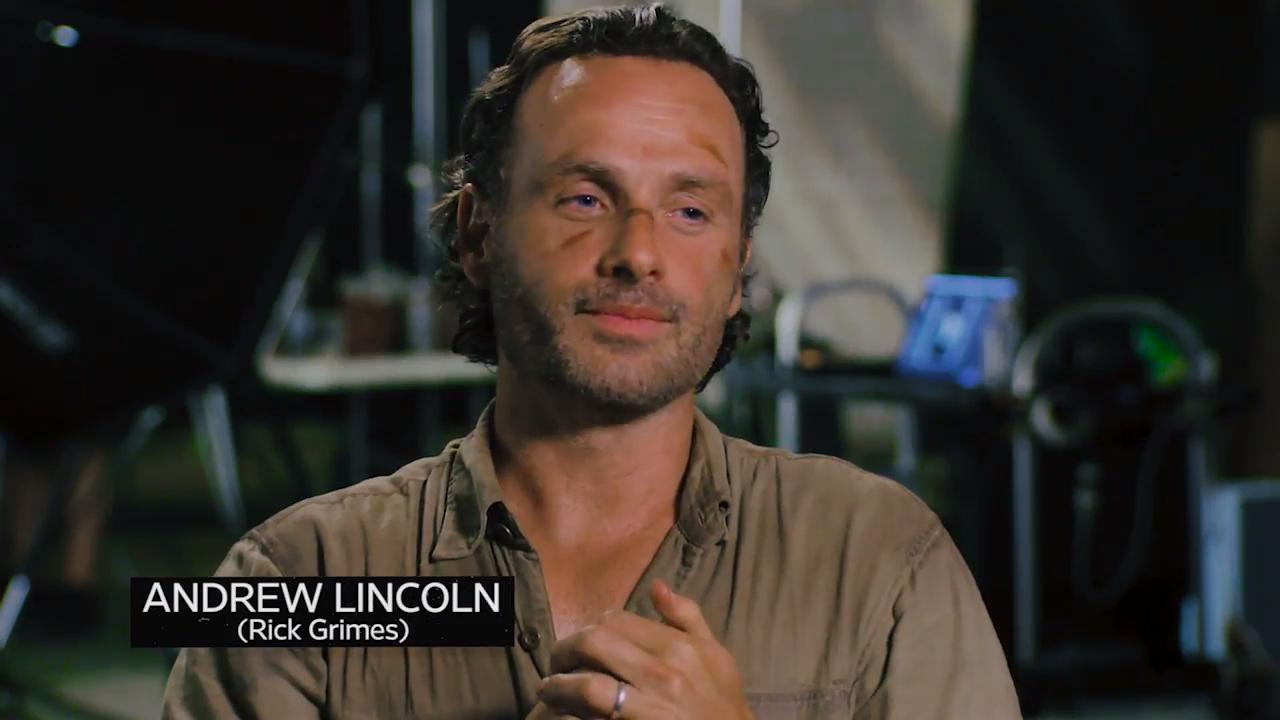 The Walking Dead Andrew Lincoln Reveals His Best Day Ever On Set