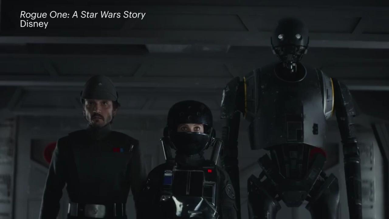 The main characters of Rogue One
