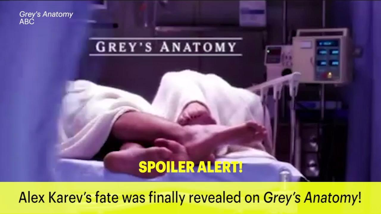 Greys Anatomy Alexs Fate Revealed Ew