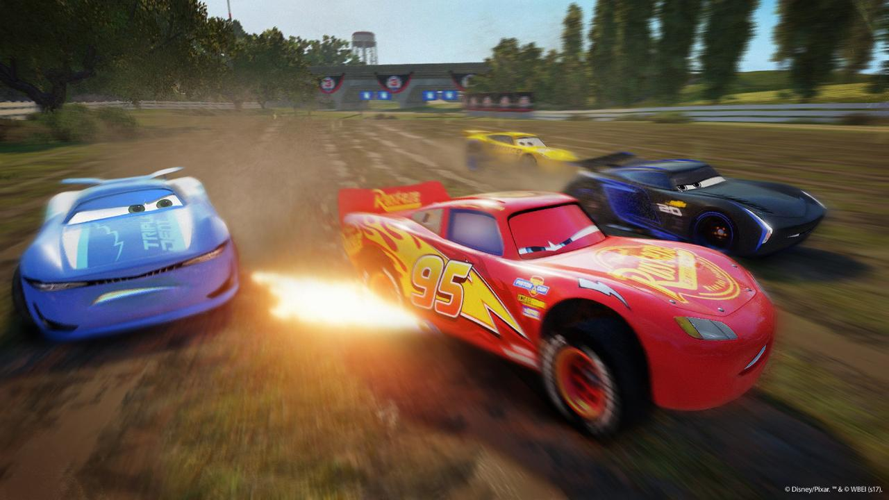 Cars 3 debuts video game first look | EW.com