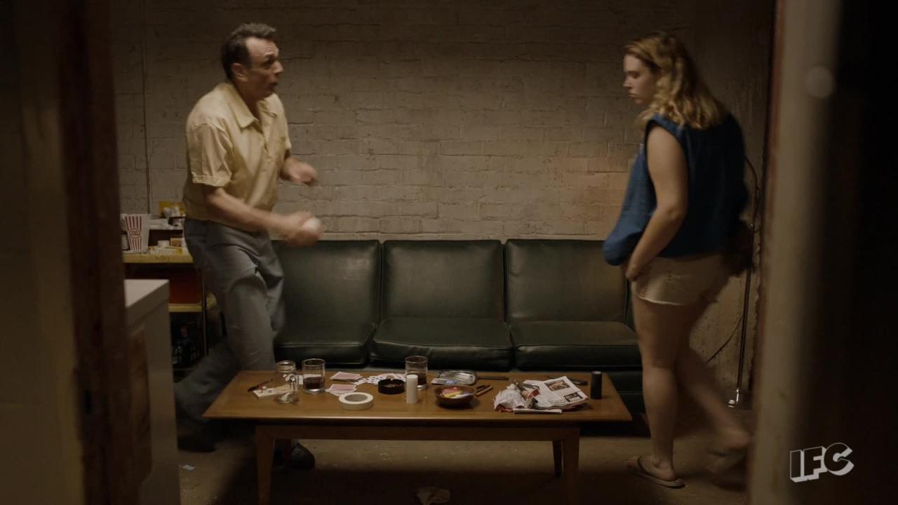 Amanda Peet Sex Scene 'brockmire' sneak peek: sex, drugs, and baseball