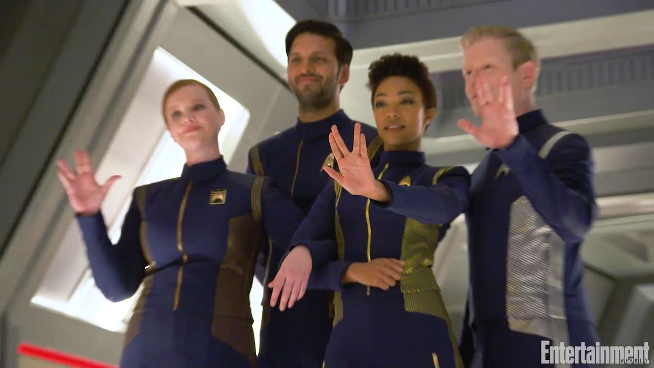 Watch Preview Of EW 'Star Trek: Discovery' Cover Shoot From