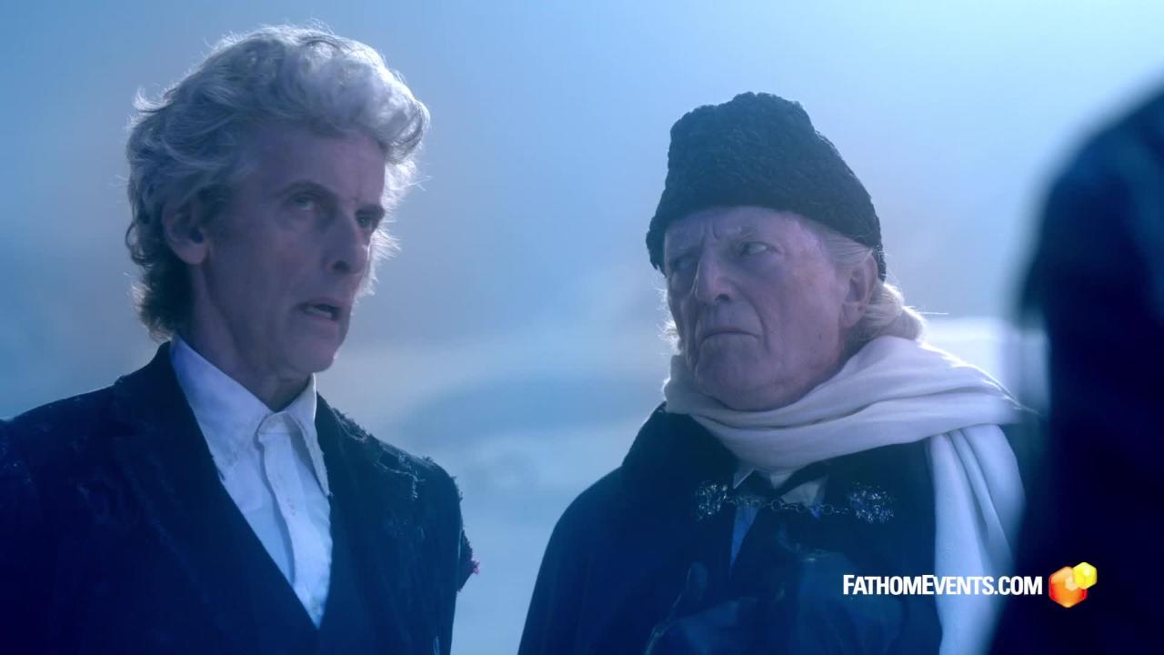 Doctor Who Christmas special to screen in theaters