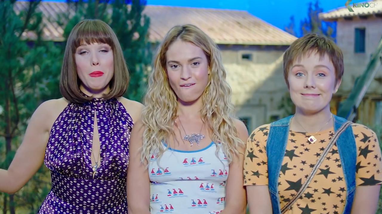 1b546c99954c70 Mamma Mia 2 trailer announcement comes as filming wraps