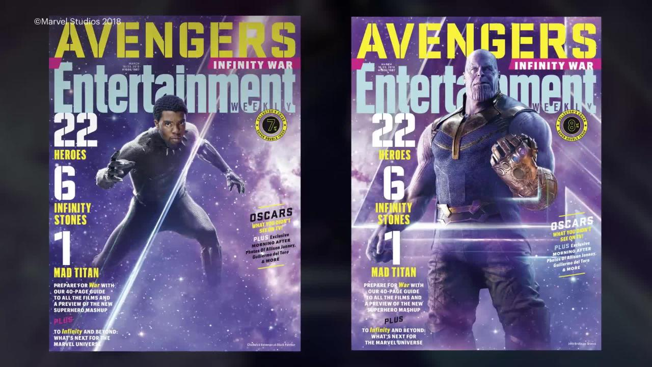 Check Out All 15 of EW's 'Avengers: Infinity War' Covers