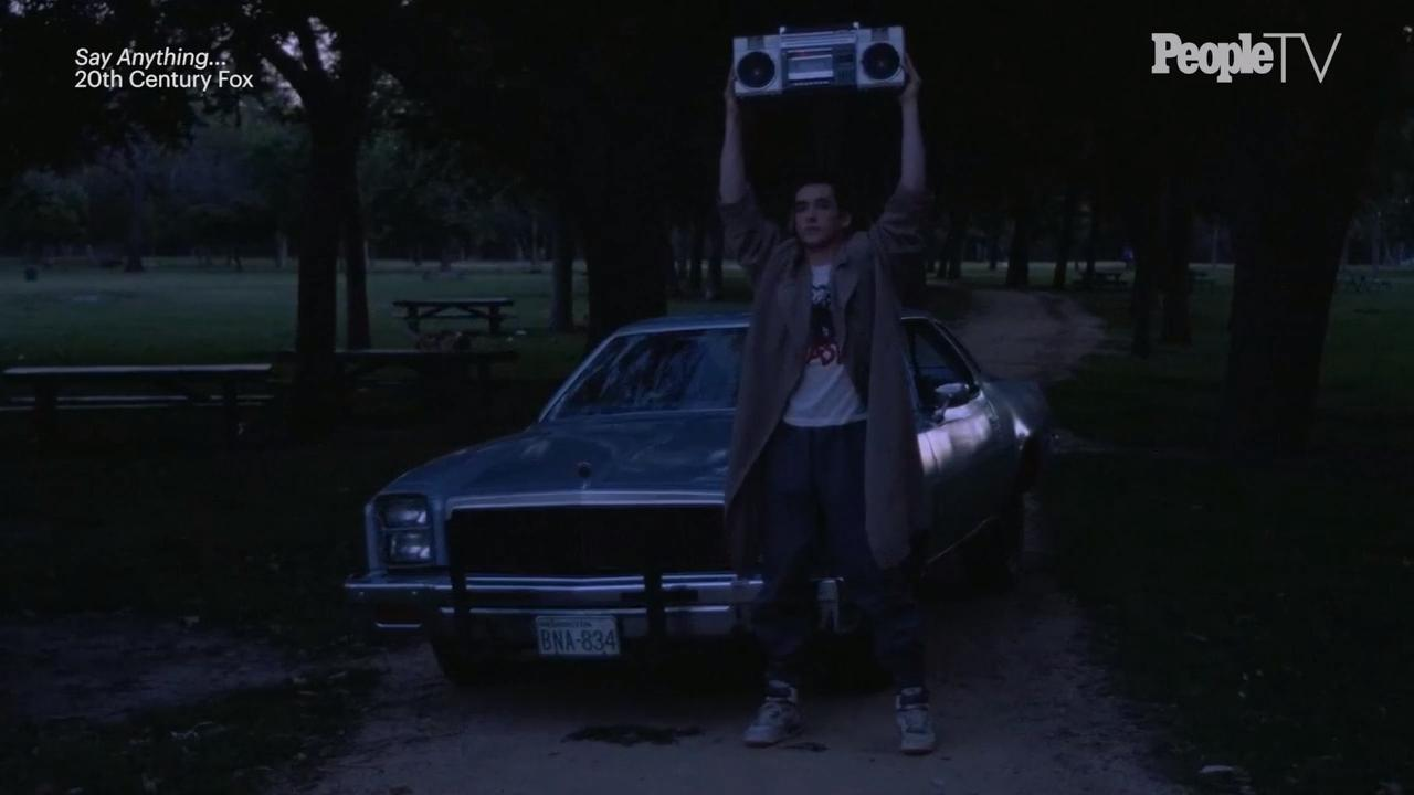 Peter Gabriel wasn't the first choice for the Say Anything boombox scene