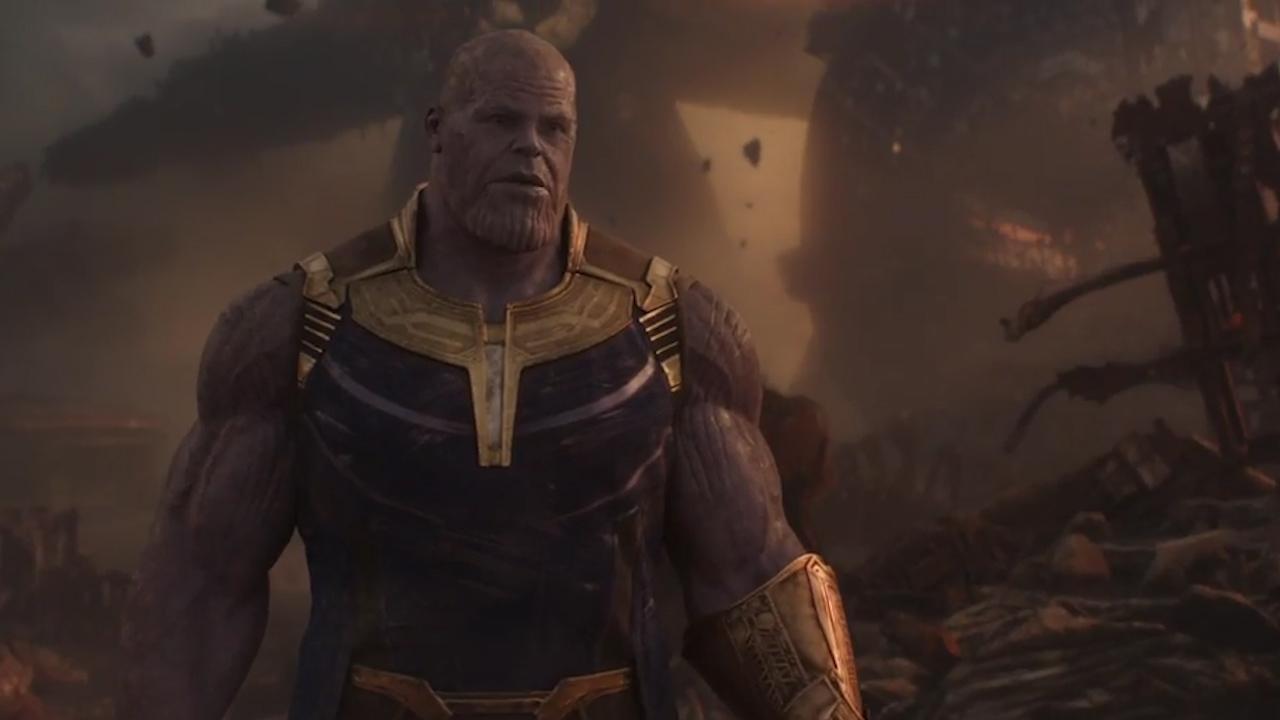 Avengers Infinity War Fortnite S Dancing Thanos Edited Into Marvel