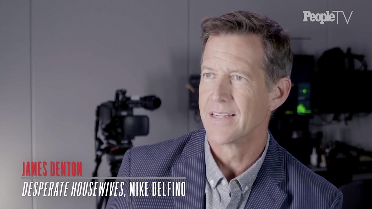 Why James Denton had to kiss a crew member to keep his second Desperate Housewives wedding a secret