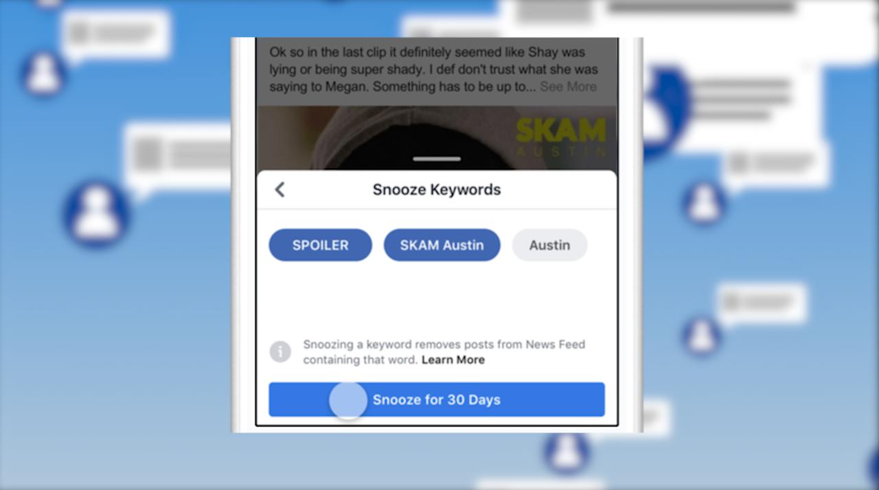 Facebook Now Lets You Block TV Spoilers (and Trump Stories) from News Feed