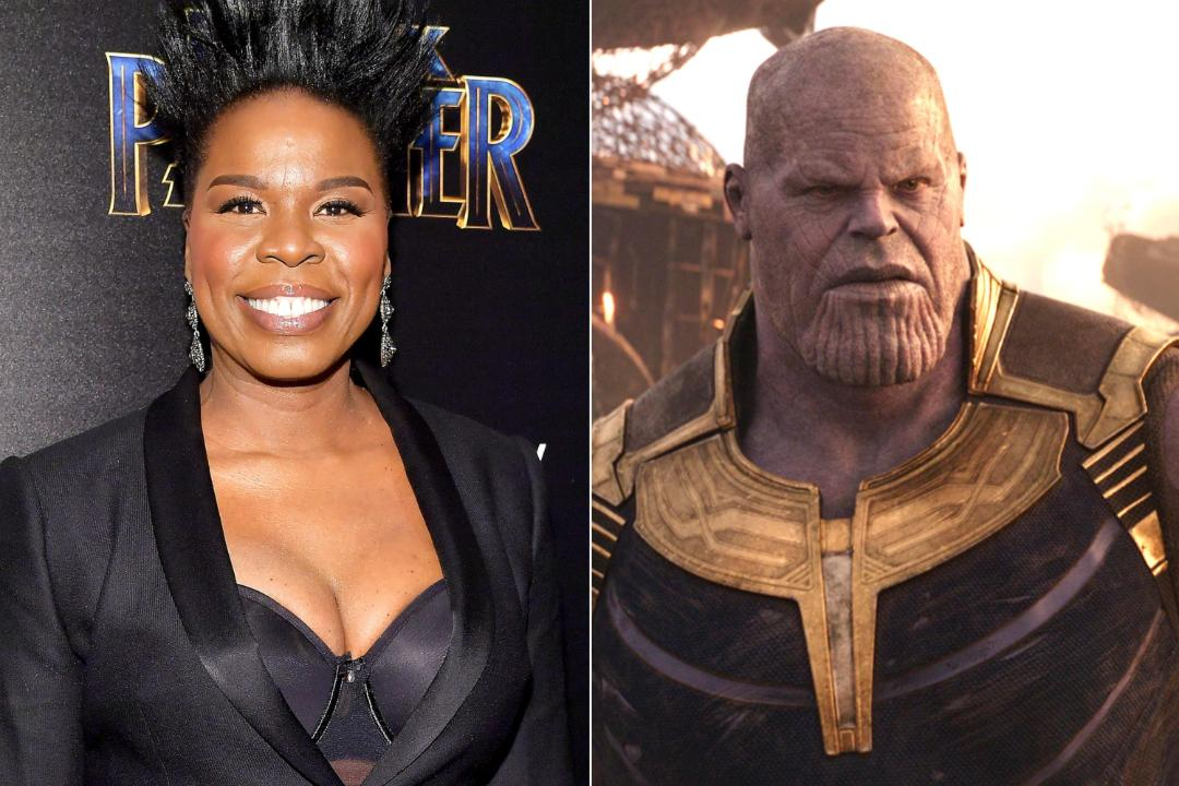 Leslie Jones live-tweeted watching Avengers: Infinity War for the first time, and it's amazing