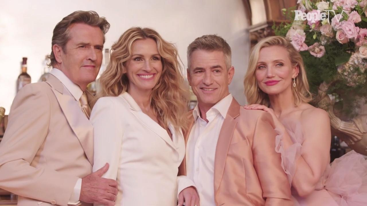My Favorite Wedding Cast.My Best Friend S Wedding Cast Reunion Julia Roberts Reflects On The Iconic Film S Legacy