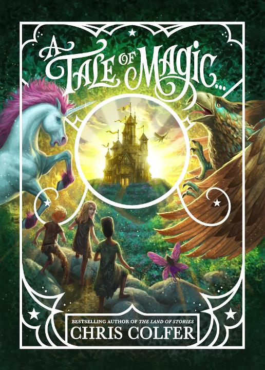 A Tale of Magic Cover Packaging