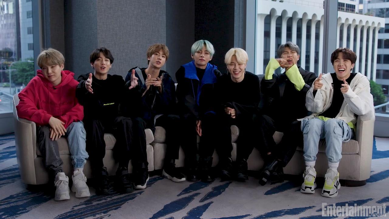 K-Pop Group BTS Reveal Their Pop Culture Favorites