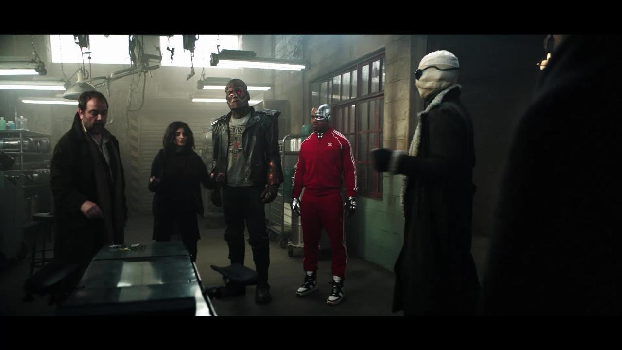 Doom Patrol somehow gets even weirder in exclusive gag reel