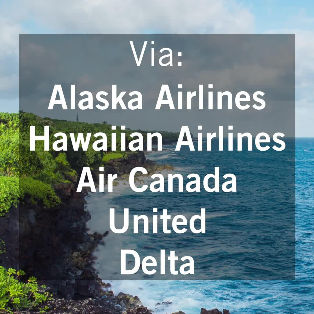 Flights to Hawaii are now even cheaper (T+L Video)