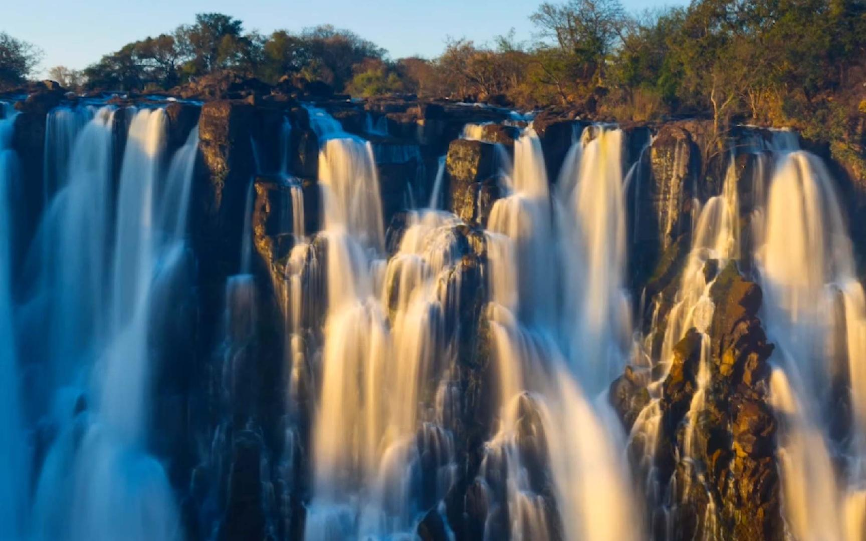 "During a full moon, you can see a ""moonbow"" at the largest waterfall on Earth"