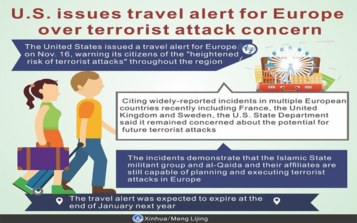 Europe at Higher Risk for Terrorism During Christmas Season, State ...
