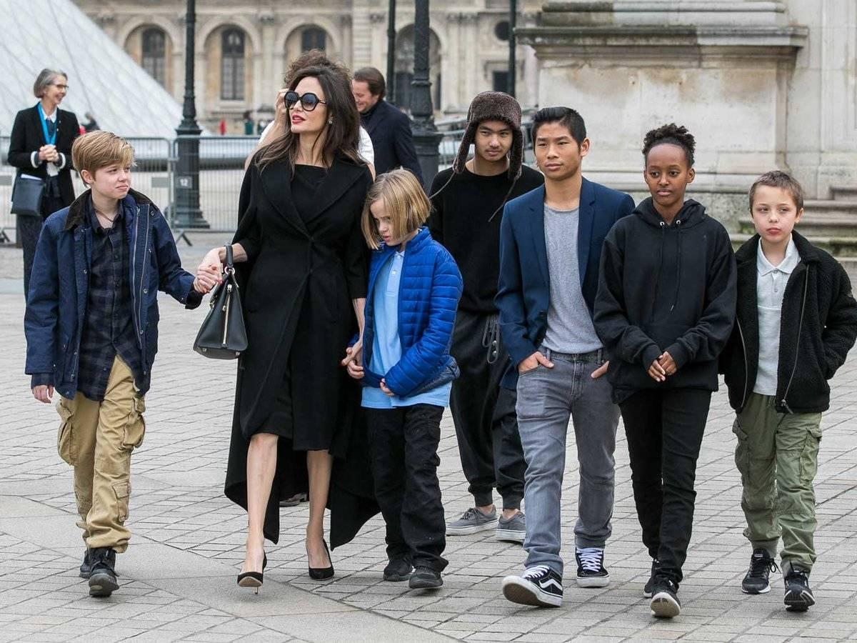 Angelina Jolie Children, Net Worth, Parents, Brother ...